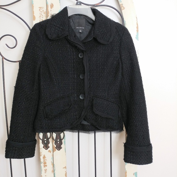 The Limited Jackets & Blazers - The Limited black jacket / cardigan small